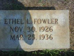 Ethel Louise Fowler