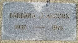 Barbara J Alcorn
