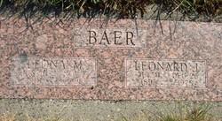Leona M Baer
