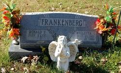 Willetta C. Billy <i>Luehr</i> Frankenberg