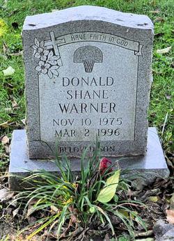 Donald Shane Warner