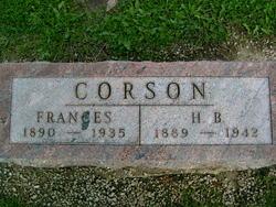 Frances Corson