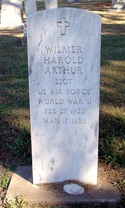 Wilmer Harold Arthur