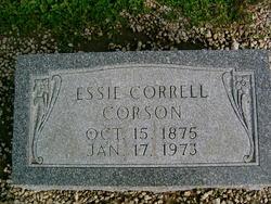Essie May <i>Correll</i> Corson