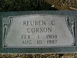 Reuben C Corson
