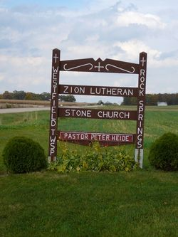 Zion Lutheran Stone Cemetery
