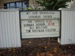 Mount Zion Evangelical Lutheran Cemetery
