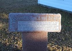Ahola Cemetery