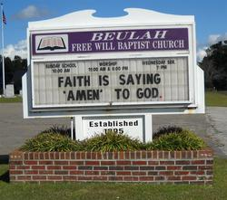 Beulah Free Will Baptist Church Cemetery