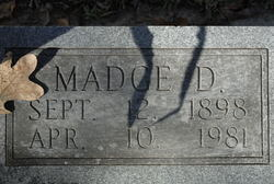 Margaret Devernia Madge <i>Campbell</i> Adams
