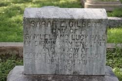 Sarah E. <i>Hall</i> Gilbert