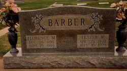 Lester Winburn Barber