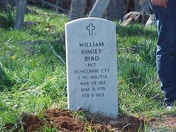 Pvt William Kimsey Byrd, Sr