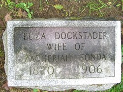 Elizabeth Fonda <i>Dockstader</i> Fonda