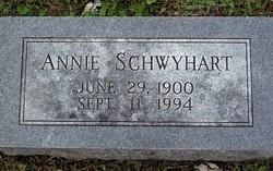 Annie <i>Alley</i> Schwyhart