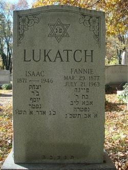 Fannie <i>Grosberg</i> Lukatch
