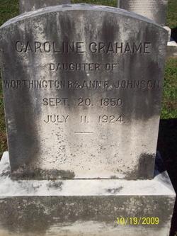 Caroline Grahame Johnson