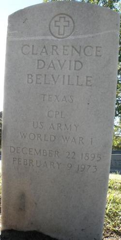 Corp Clarence David Belville