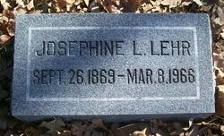 Josephine L. Lehr
