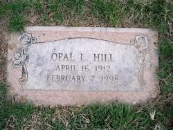 Opal Lucille <i>Hill</i> Anema