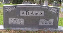 Johnnie Q. Adams