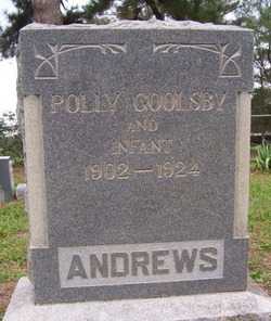 Polly <i>Goolsby</i> Andrews
