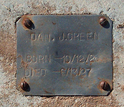 Dan Moody Green