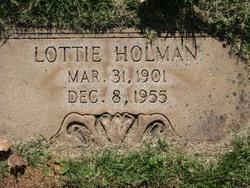 Charlotte Theresa Lottie <i>McCaffrey</i> Holman