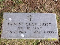 PFC Ernest Clay Busby