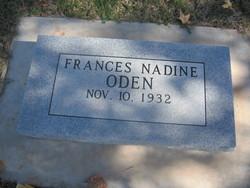 Frances Nadine <i>Wilder</i> Oden