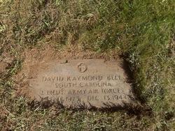 Lieut David Raymond Bell
