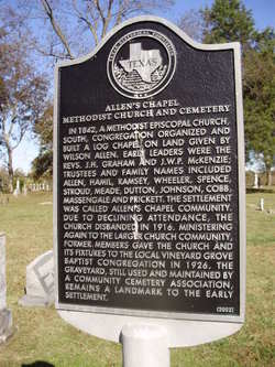 Allens Chapel Cemetery