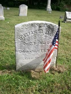 Pvt William D. Davis