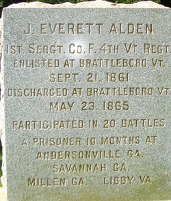Sgt James Everett Alden