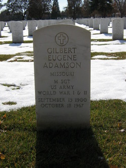 Gilbert E Adamson