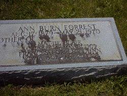 Ann <i>Burn</i> Forrest