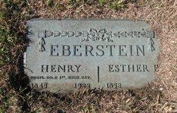 Esther Elizabeth <i>Dorrance</i> Eberstein