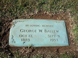 General George Washington Gent Ballew
