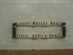 Littie Adelia <i>Pabst</i> Bruce