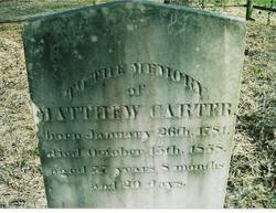 Matthew Carter, Jr