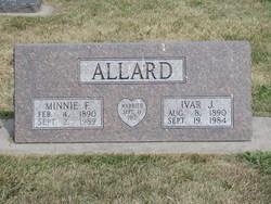 Minnie F. <i>Harder</i> Allard