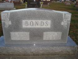 Jessie Mabel <i>Cox</i> Bonds