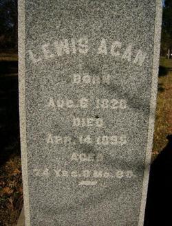 Lewis A Agan