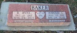 Bernice Irene <i>Jackson</i> Baker