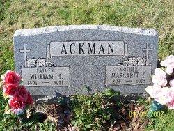 Margaret Elizabeth <i>Braller</i> Ackman