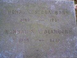 Hannah S. L. <i>Lee</i> Dearborn