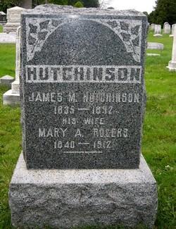 Mary A <i>Rogers</i> Hutchinson