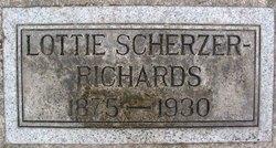 Lottie <i>Scherzer</i> Richards