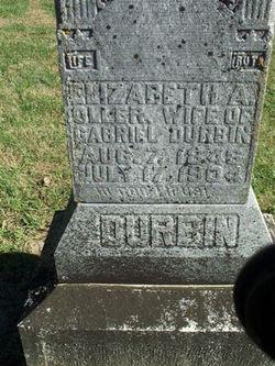 Elizabeth A <i>Oller</i> Durbin
