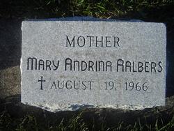Sr Mary Andrina Mary Aalbers